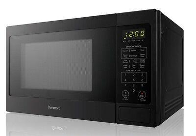 Kenmore 70919 0.9 cu. ft. Countertop Microwave Black BRAND NEW