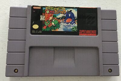 Super Mario World 2: Yoshi's Island - Super Nintendo (SNES)  Free Shipping