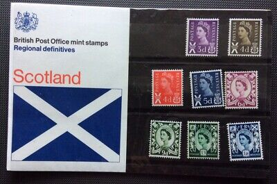 1970:- POST OFFICE  (MNH) PRESENTATION PACK No 23: SCOTLAND