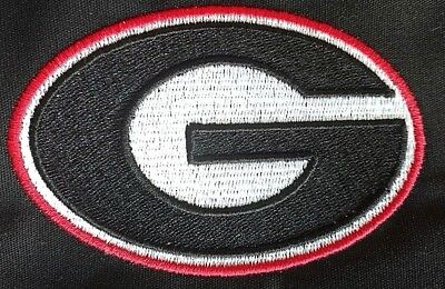 Georgia Bulldogs Logo embroidered Patch UGA G Multiple sizes/options available