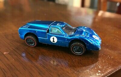 Ford J-Car Redline blue color Hot Wheels 1969
