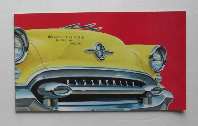 1954 Oldsmobile Brochure 88 98