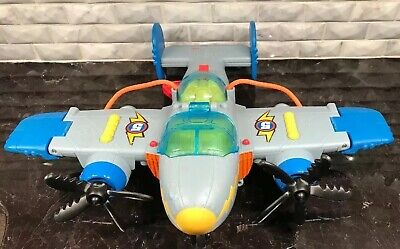 Fisher-Price Imaginext Sky Racers Tornado Prop Plane Jet Airplane Fighter 2009