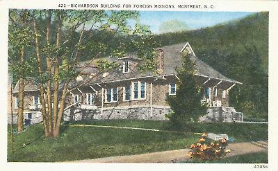 Richardson Building (Richardson Building Foreign Missions Montreat Postcard North Carolina)