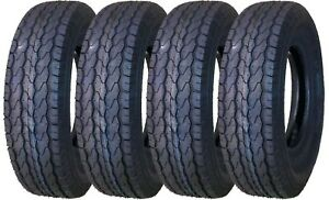 4 New Free Country Trailer Tires ST205/75D14 2057514 14