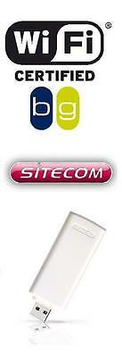 MARKENWARE Sitecom WLAN USB STICK WL-172 Wireless Adapter,54 Mbit/s 802.11b/g