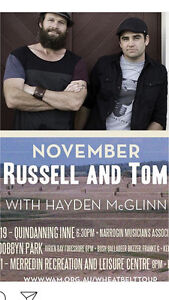 Russell and Tom Narrogin Narrogin Area Preview
