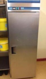 Commercial Stainless Steel Single Door Fridge