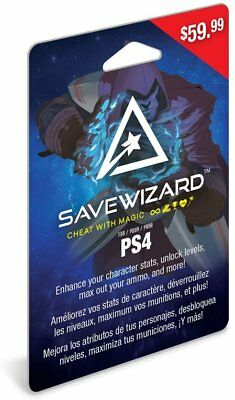 Hyperkin PlayStation 4 Save Wizard Save Editor Game Cheats Unlocks for PS4