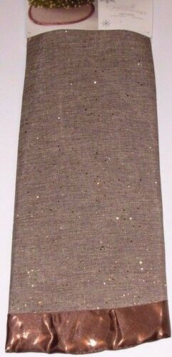 Christmas Tree Skirt 52 inches Golden Radiance, Jaclyn Smith, New w/Tag