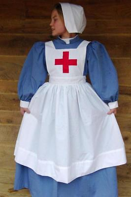 Historical Costume Clara Barton Red Cross ~Blue Civil War Nurse~ Child Size - Nursing Costumes