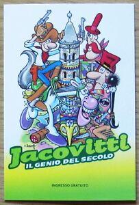 Cartolina-JACOVITTI-IL-GENIO-DEL-SECOLO-Tiferno-Comics-2010-Nuova