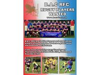 BAC Rugby Club - Filton - Players Wanted