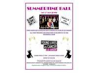 SUMMERTIME BALL FOR CLIC SARGENT CANCER CHARITY 1ST JULY ESSEX