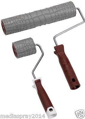 Rullo in gomma per effetti decorativi - effetto GATOR - da 7 cm e 25 cm
