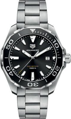 WAY101A.BA0746 | BRAND NEW TAG HEUER AQUARACER BLACK DIAL 43MM MEN'S WATCH