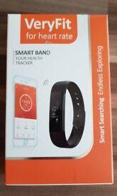 New Fitbit watch blue strap