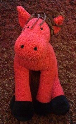 Manhattan Toy Red Horse Pony Plush Named Rhoda 9