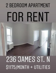 2 bedroom on James st North