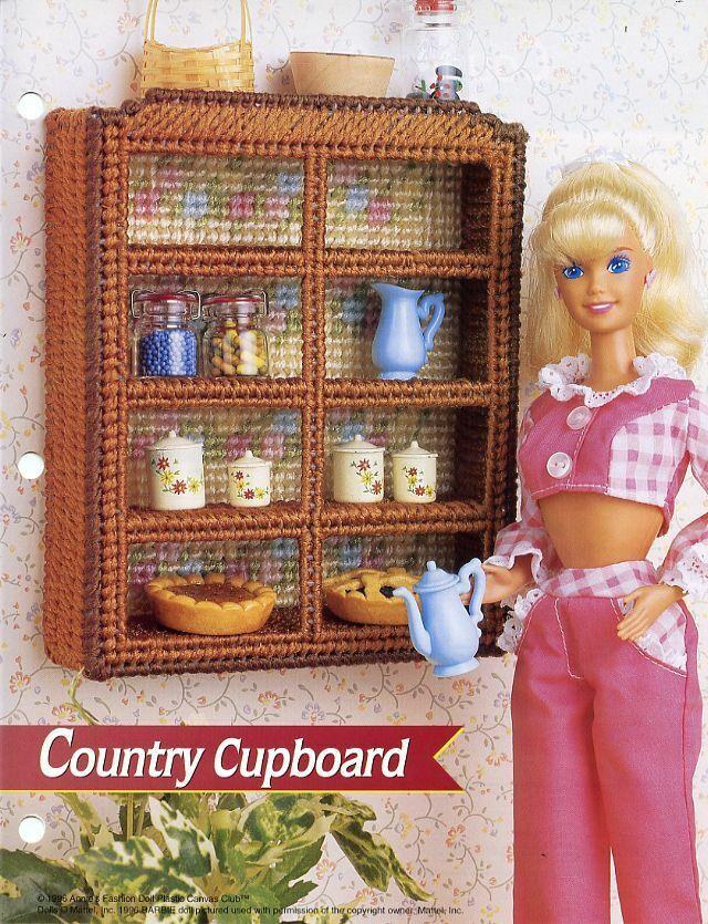 Annie/'s plastic canvas pattern leaflet Fashion Doll Finery ~ fits Barbie dolls