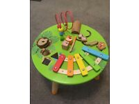 Music table for babies/toddlers