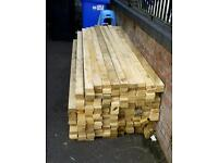 8ft lengths of 3x1.5 timber great for sheds fences garden furniture stud walls etc