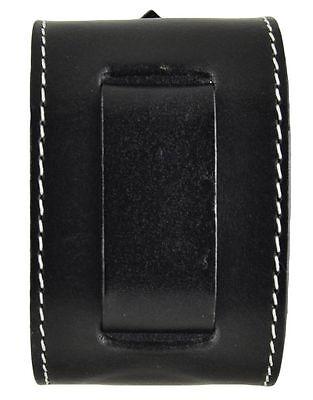 "Nemesis GSB Black Stitched Arrow End Leather Watch Cuff Band 24mm 10.5"" 2.25"""