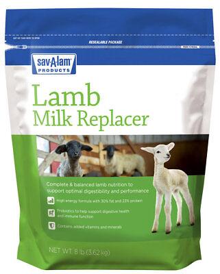 Milk Products Sav-a-lam Lamb Milk Replacer 8lb Bag