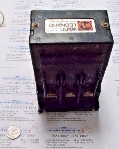 Ward Leonard 5DPI-21100 Definite Purpos 30AMP/50VDC Contactor 115VAC