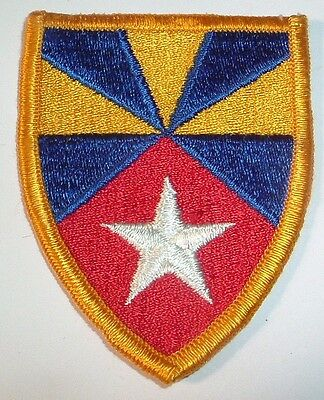 AMERICAN PATCHES-1970/1980 U.S ARMY 7th SUPPORT BRIGADE BRIGADE FULL COLOUR