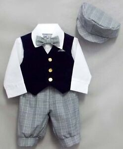Wholesale-Lot-Just-Darling-5Pc-Boys-Knicker-Sets-Sizes-6-mos-8-E029021