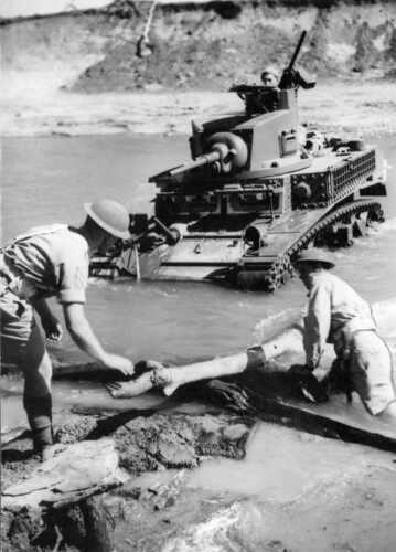 WW2  Photo Australian M3 Stuart Tank Australia WWII World War Two ANZAC