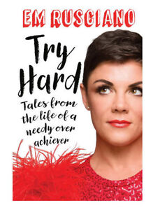 Em Rusciano Book. Try Hard (Brand New) Mill Park Whittlesea Area Preview