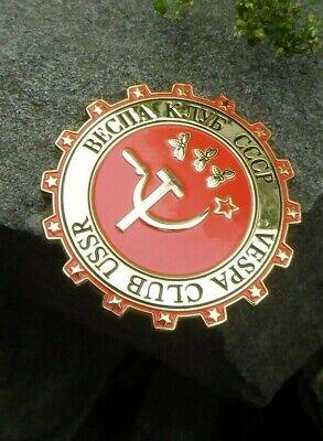Rare - VESPA Club RUSSIA CCCP USSR - Scooter Racers Club Badge