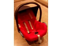 Maxi Cosi baby car seat and mirror