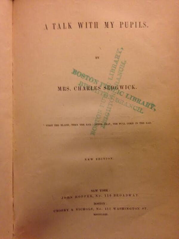 Teaching Book 1863 Civil War Era Education School Reference Teacher Methods