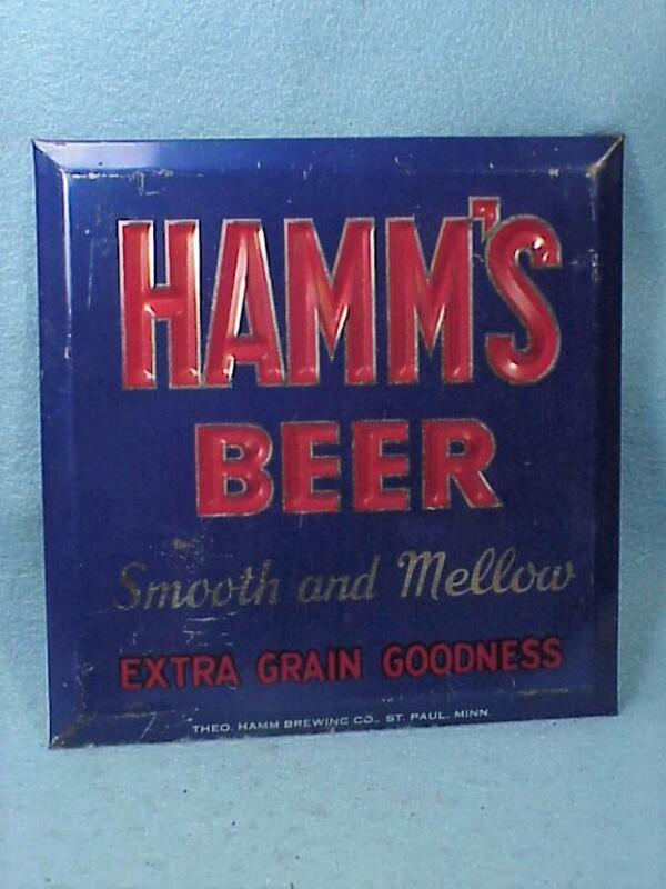 Hamms Tin Sign