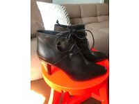 Argentine leather boots
