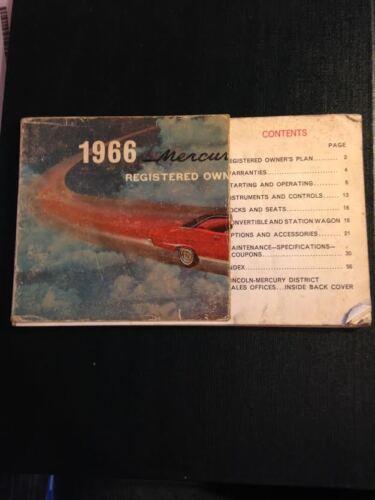 1966 Lincoln Mercury Comet Owner