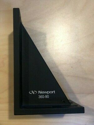 Newport Optical Stage Mount 90-degree Angle Bracket 360-90