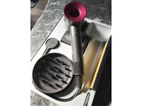 Dyson Supersonic Hairdryer NEW Fuchsia & 2 year Guarantee