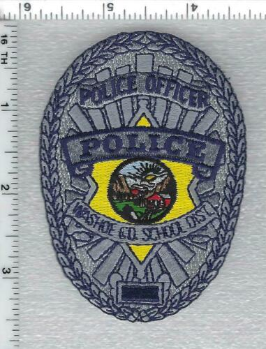Washoe County School District Police (Nevada) 1st Issue Cap/Hat Patch