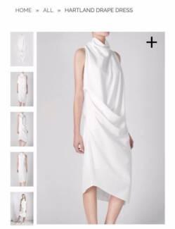 ACLER Drape Dress