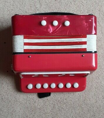 Childs Small Accordian / Squeeze Box