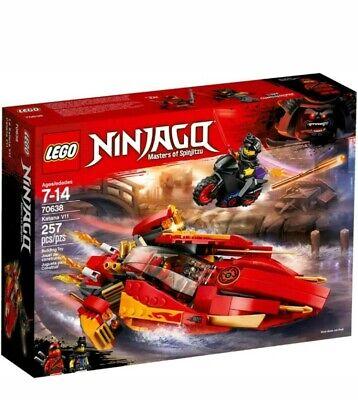 LEGO 70638 Ninjago Katana V11 Set 257 Pieces Age 7+ new sealed retail stock