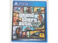 SONY PLAYSTATION PS4 GAME GRAND THEFT AUTO 5 GTA V PAL ROCKSTAR GAMES 18+ MAP.**