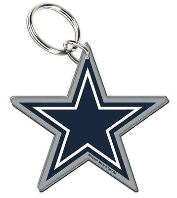 Dallas Cowboys Schlüsselanhänger Team Logo Acryl Keyring,NFL Football,Neu
