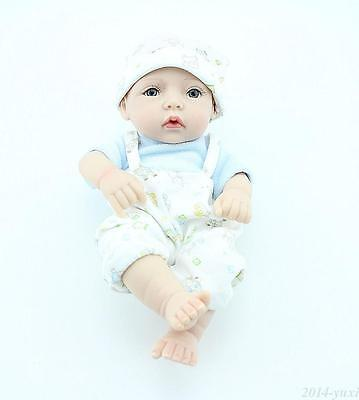 """Alive Baby Doll for Sale 10"""" Full Vinyl Reborn Baby Dolls That Look Real"""