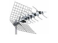 New still boxed Bush 21 Elements UHF Outdoor TV Antenna