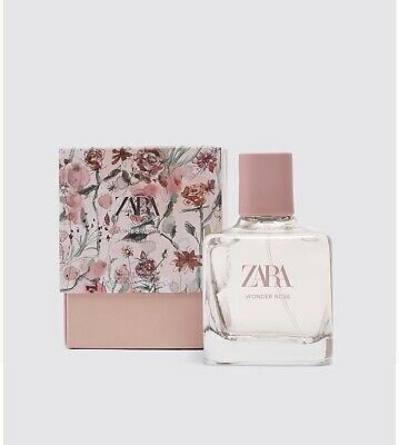 💃🏽 Zara Women Perfume Wonder Rose 100ml ( Sealed)